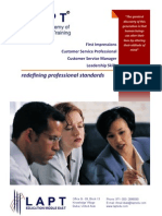 LAPT EDU Customer Service Brochure