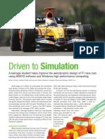 AA V2 I3 Driven to Simulation