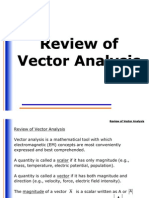 Review Vector Analysis