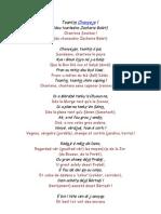 Chantens Saviese (Saviésan/ORB)