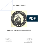Railway Employment Management System