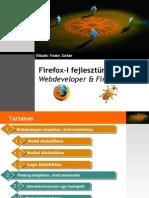 Firefox Szal Fejlesztunk