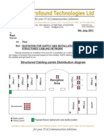 Paul - Quotation for Supply and Installation of a Structured Cabling Network