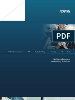 NetVanta Business Networking Solutions Brochure EN1410