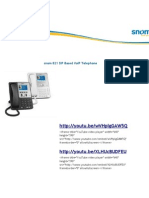 Snom 821 SIP Based VoIP Telephone
