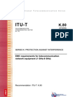 K80_09 EMC Requirements (1 to 6 GHz)