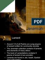 Jeremiah 3 Lament