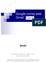 Gmail. El correo web infinito de Google.