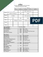 Pgdm II Time Table