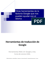 Google Translate/ Google traductor