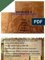 Sistem Penomboran Mesir Purba