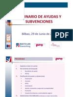 Seminario de Ayudas y Subvenciones Bizkaia