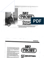 Bike Machine Manual