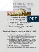 Exchange Rate & Forex Management