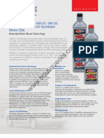 AmsoilXL Extended Life Synthetic Motor Ois - Data Bulletin