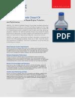 OE 15W-40 Synthetic Diesel Oil g2885