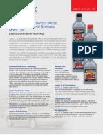 XL Extended Life Synthetic Motor Ois - Data Bulletin