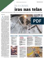 Livro Toupeira no jornal Zero Hora - RS