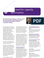 The Need for Capacity Optimization Examining Storage Efficiency in the Data Center