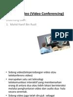 Sidang Video