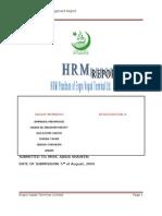 Evtl Hrm Report