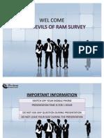 Ram Survey Presentation