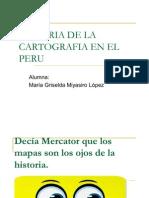 Historia de La Cartografia en El Peru