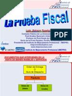 La Prueba Fiscal