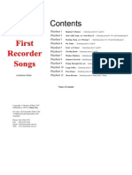 Recorder Songs