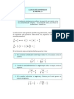 radicación de números racionales