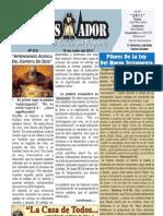 """2011-07-10 """"El Conquistador"""" Boletín Semanal de """"La Casa de Todos"""""""