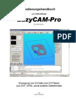 LazyCAM Pro 2.04 Handbuch