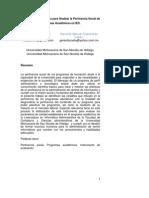 Propuesta Metodológica para Analizar la Pertinencia Social de Programas Académicos en IES.