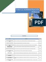 Talleres para la Administración Pública