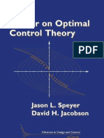 Primer on Optimal Control BOOK Speyer