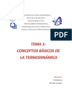 Conceptos Basicos de La Termodinamica