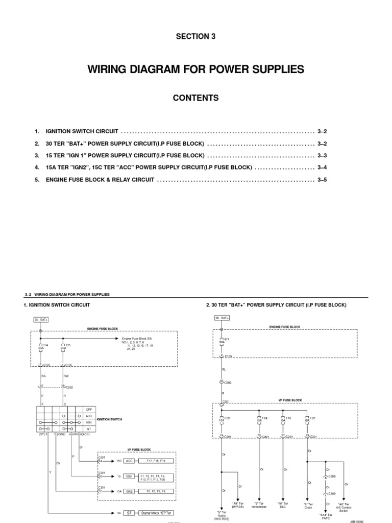 Daewoo Tacuma Electrical Wiring Diagram Library Engine Diagrams