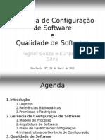 Gestão de Configuração de Software e Gestão da Qualidade