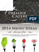 Premier Catering Menu Ideas Book