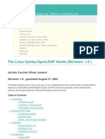 The Linux Samba-OpenLDAP Howto Revision_ 1.6)