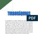 TURBOMÁQUINAS, Conepto, clasificacion