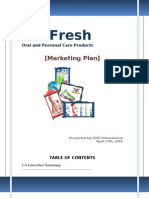 Dr Fresh Final Business Plan