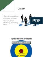 Tipo de compradores Banner, Email marketing Clase 9