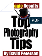 Top Photo Tips
