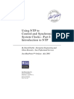 Sun Blueprints (816-1475) - Using NTP to Control and Synchronize System Clocks - Part I, Introduction to