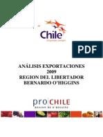 Analisis Exportaciones Vi Region 2009