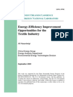 Energy Textile Industry