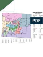 Chairman Skip Alston Redistricting Map on Precinct Overlay 2011