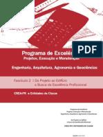 Manual do Programa de Excelência em Projetos - fascículo 2