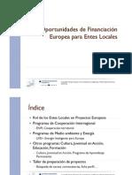 Fondos Europeos Para El Desarrollo Local